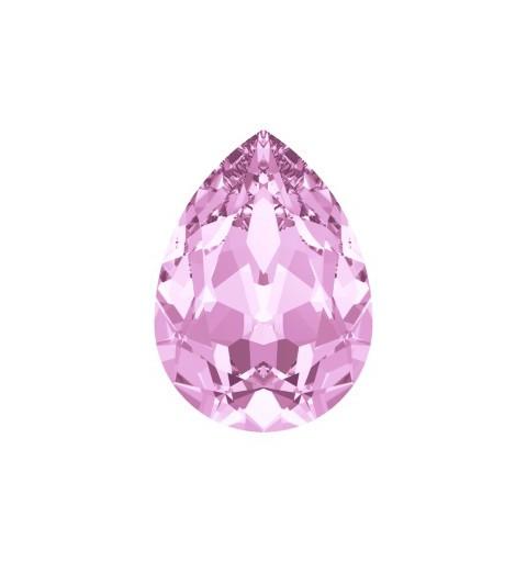 18x13mm Rosaline F (508) Pear-Shaped Fancy Stone 4320 Swarovski Elements