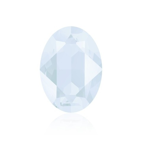 14x10mm Crystal Powder Blue (001 PBLU) Oval Ehete Kristall 4120 Swarovski Elements