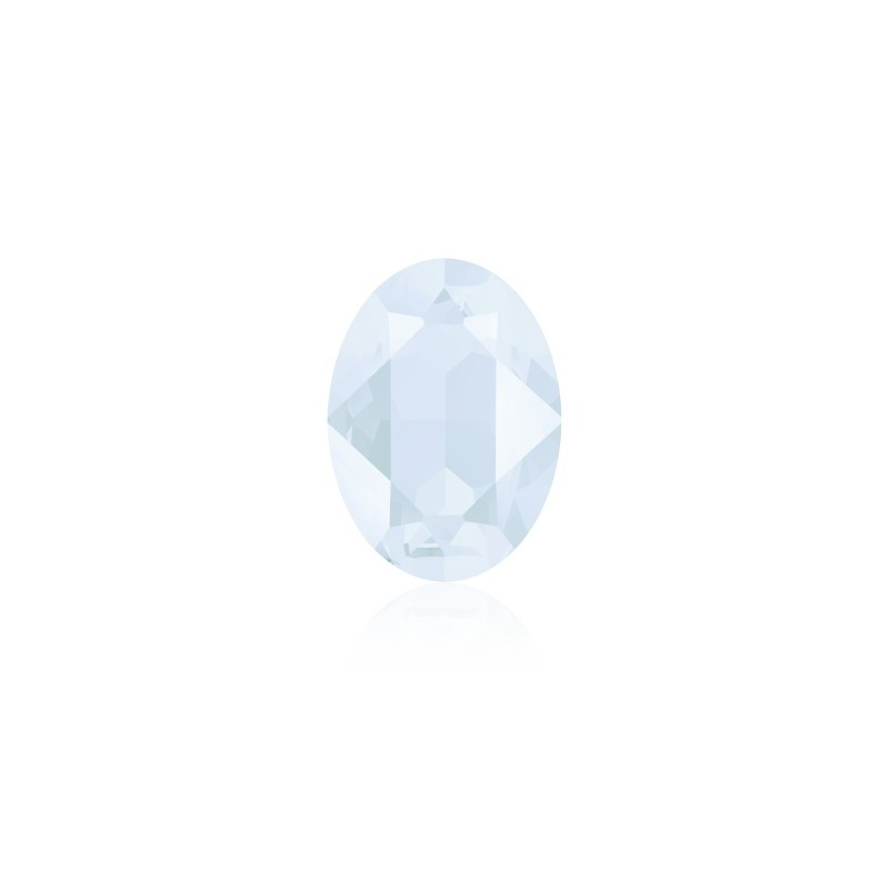 18x13mm Crystal Powder Blue (001 PBLU) Овальный Кристалл для украшений 4120 Swarovski Elements
