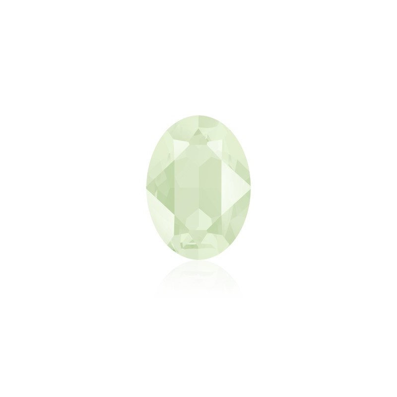 14x10mm Crystal Powder Green (001 PGRE) Oval Fancy Stone 4120 Swarovski Elements