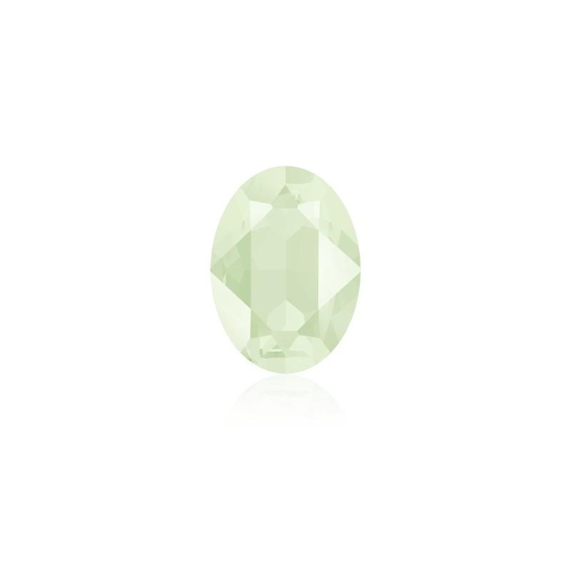 18x13mm Crystal Powder Green (001 PGRE) Oval Ehete Kristall 4120 Swarovski Elements