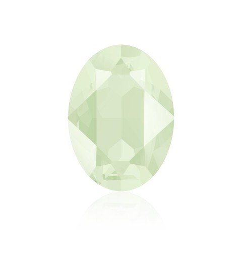 18x13mm Crystal Powder Green (001 PGRE) Oval Fancy Stone 4120 Swarovski Elements