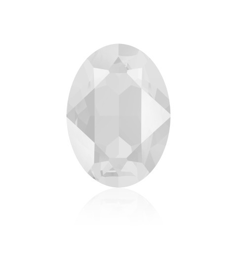 14x10mm Crystal Powder Grey (001 PGRY) Oval Ehete Kristall 4120 Swarovski Elements