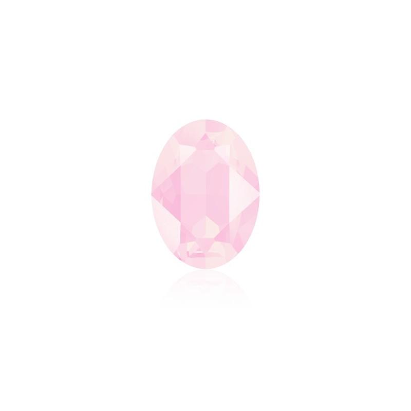 14x10mm Crystal Powder Rose (001 PROS) Oval Fancy Stone 4120 Swarovski Elements