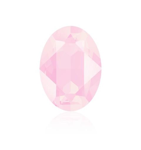 14x10mm Crystal Powder Rose (001 PROS) Овальный Кристалл для украшений 4120 Swarovski Elements