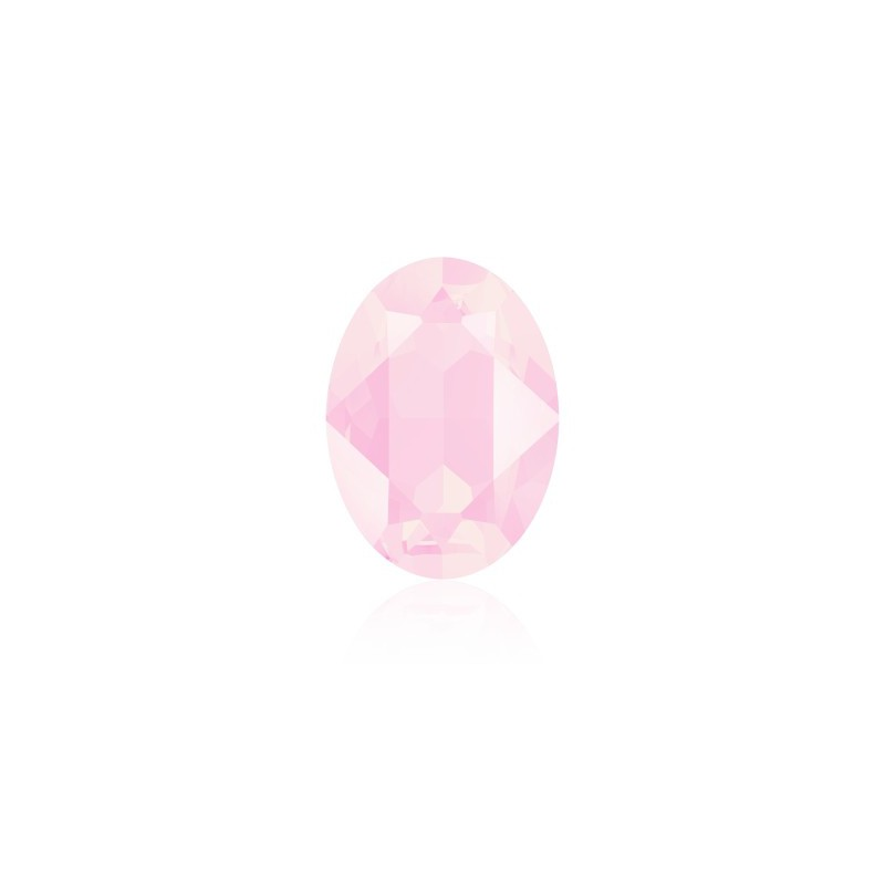 18x13mm Crystal Powder Rose (001 PROS) Oval Fancy Stone 4120 Swarovski Elements