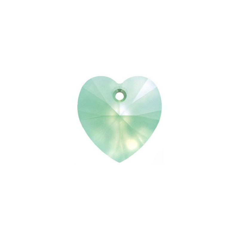 14.4x14MM Chrysolite Opal (294) XILION Heart Pendants 6228 SWAROVSKI ELEMENTS