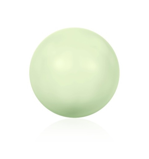 10MM Crystal Pastel Green Pearl (001 967) Large Hole 5811 SWAROVSKI ELEMENTS