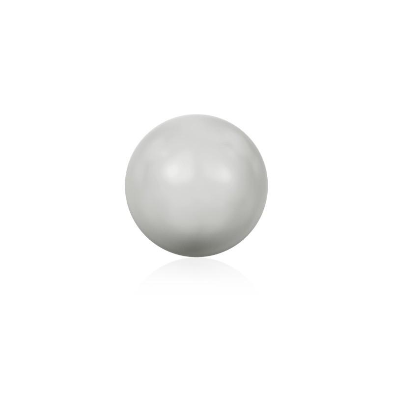 10MM Crystal Pastel Grey Pearl (001 968) Large Hole 5811 SWAROVSKI ELEMENTS