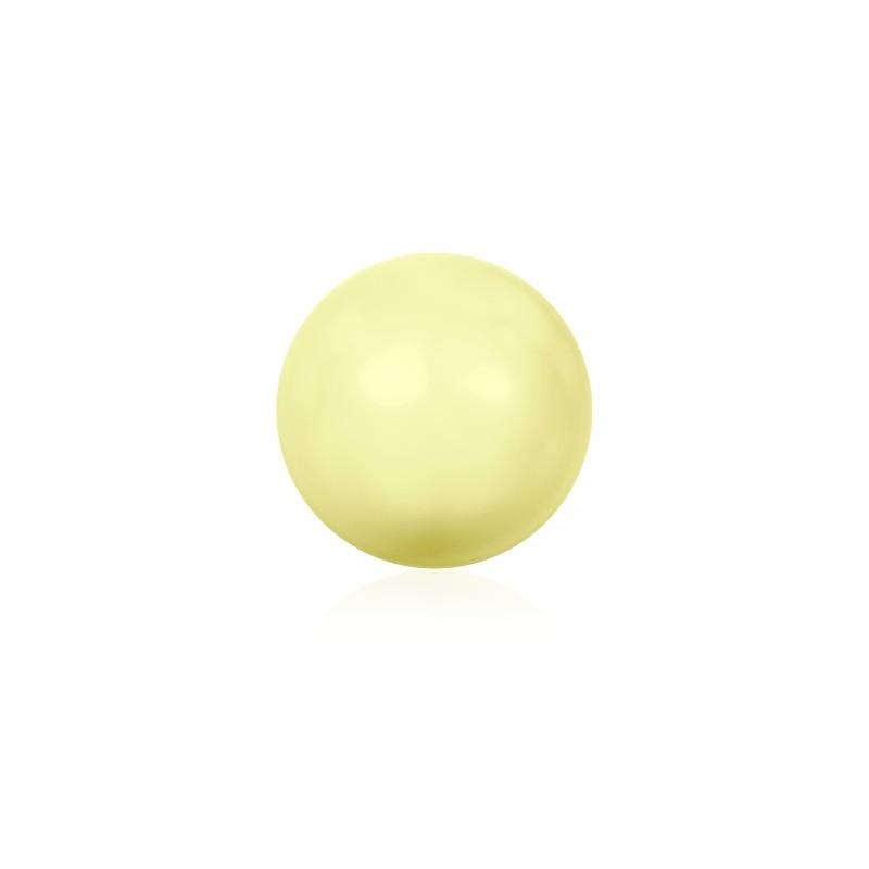 10MM Pastel Yellow Кристаллический Круглый Жемчуг (001 945) с Большим Отверстием 5811 SWAROVSKI ELEMENTS