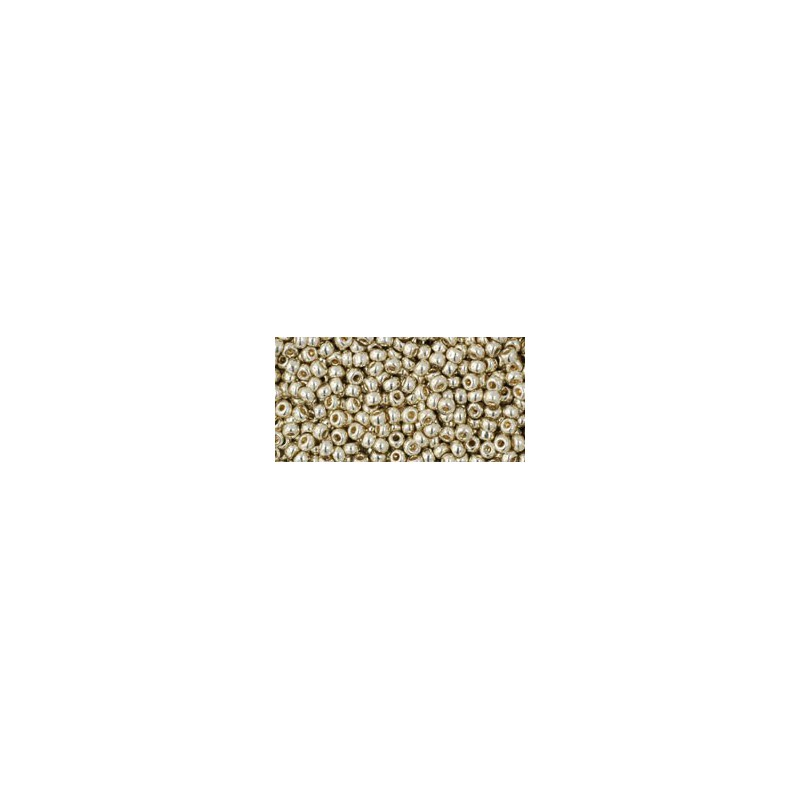 TR-11-PF558 Permanent Finish - Galvanized Aluminum TOHO Seed Beads