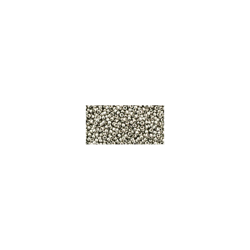 TR-15-711 Nickel TOHO Seed Beads