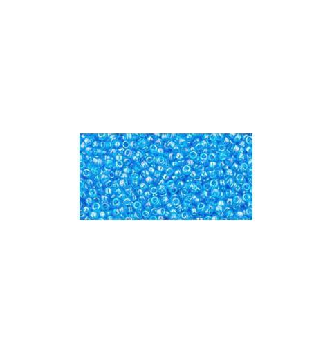 TR-15-163B Trans-Rainbow Dark Aqua TOHO Seed Beads