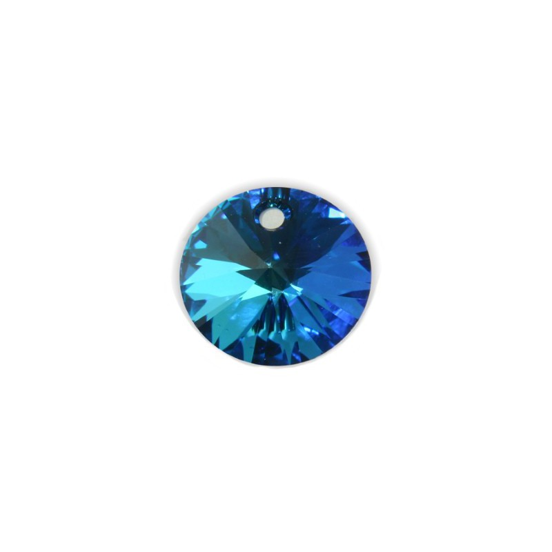 12MM Crystal Bermuda Blue (001 BB) XILION Ripatsid 6428 SWAROVSKI ELEMENTS