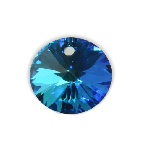 12MM Crystal Bermuda Blue (001 BB) XILION Pendants 6428 SWAROVSKI ELEMENTS