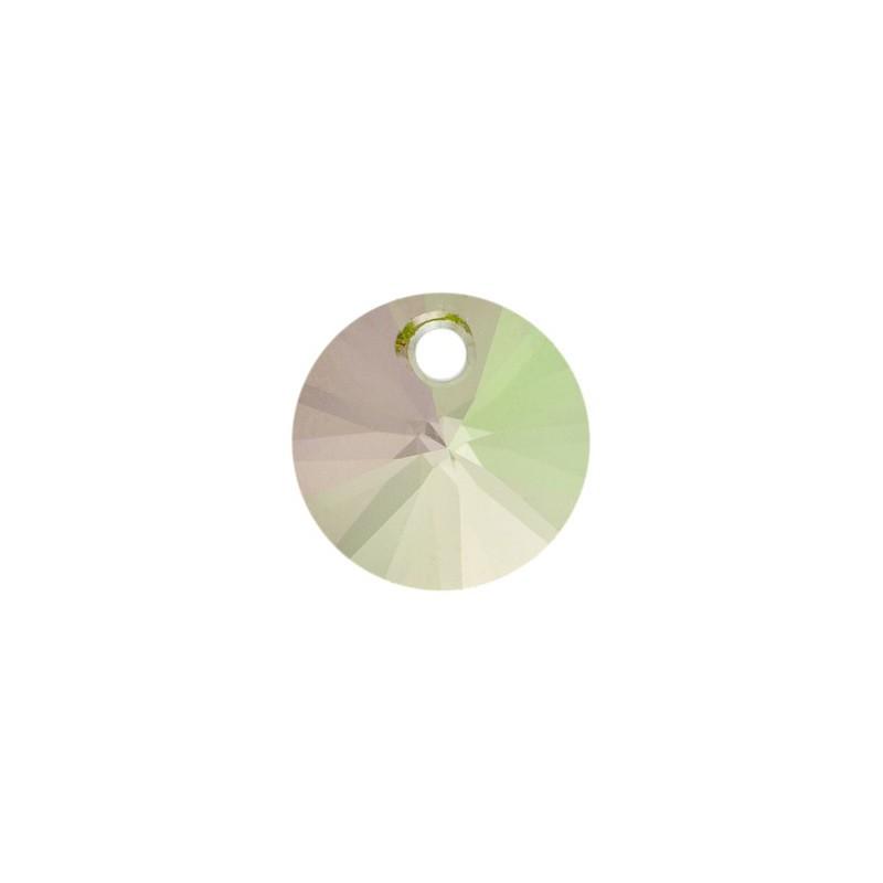 12MM Crystal Luminous Green (001 LUMG) XILION Ripatsid 6428 SWAROVSKI ELEMENTS