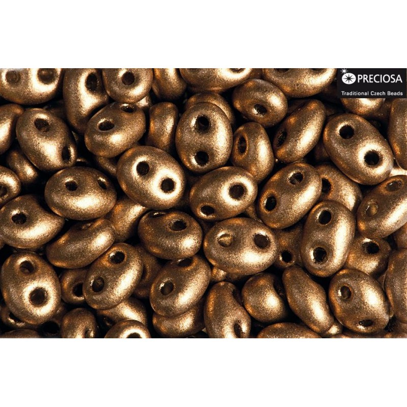 Twin-2RH-23980/01740 Bronze Seed Beads