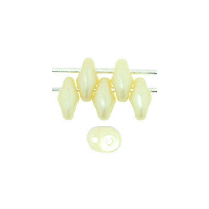 Twin-2RH-25039 Pastel Vanilla PRECIOSA-ORNELA Seed Beads