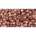 TR-08-203 Gold-Lustered Light Amethyst TOHO SEED BEADS