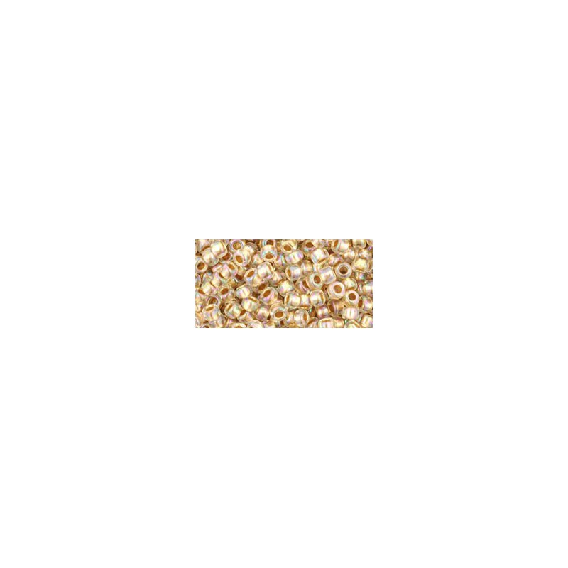 TR-08-994 Gold-Lined Rainbow Crystal TOHO SEED BEADS