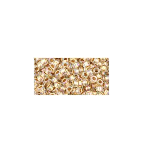 TR-08-994 Gold-Lined Rainbow Crystal TOHO SEED BEADS