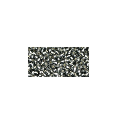 TR-11-29B Silver-Lined Gray TOHO Seed Beads