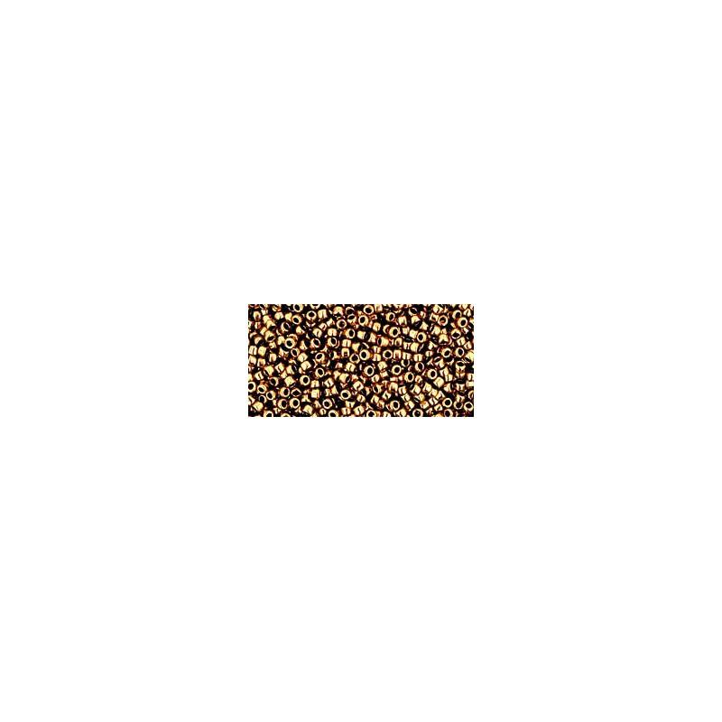 TR-15-221 Bronze TOHO Seed Beads