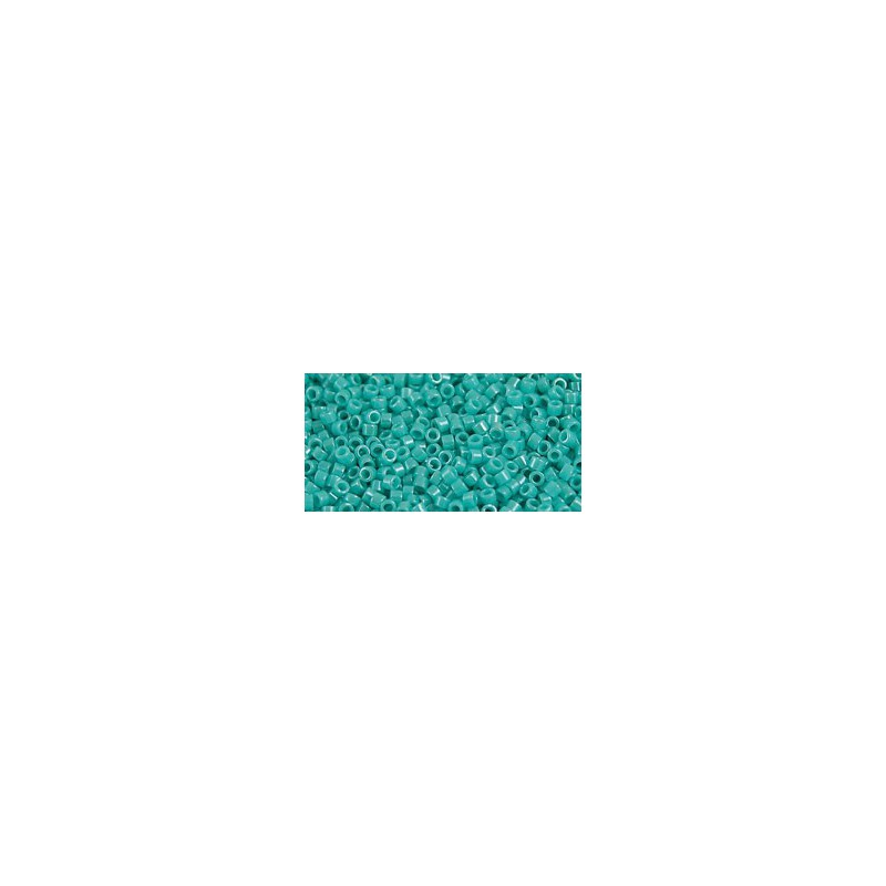 TT-01-132 Opaque-Lustered Turquoise TOHO Treasures Seemnehelmed
