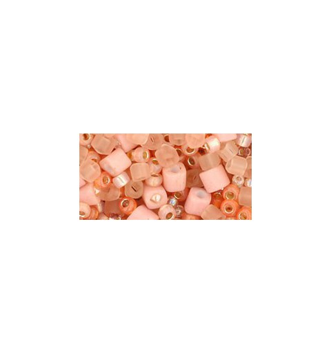 TX-01-3202 Piichi-Peach Mix TOHO Seed Beads