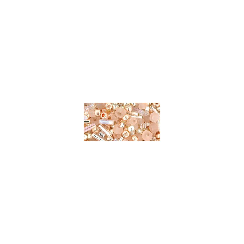 TX-01-3213 Bara-Rose Mix TOHO Seed Beads
