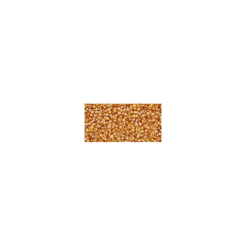 TR-15-162C Trans-Rainbow Topaz TOHO Seed Beads
