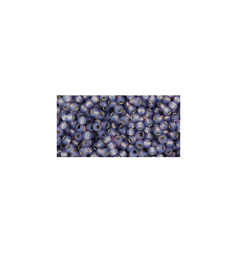 TR-11-2124 Silver-Lined Milky Lavender TOHO Seed Beads
