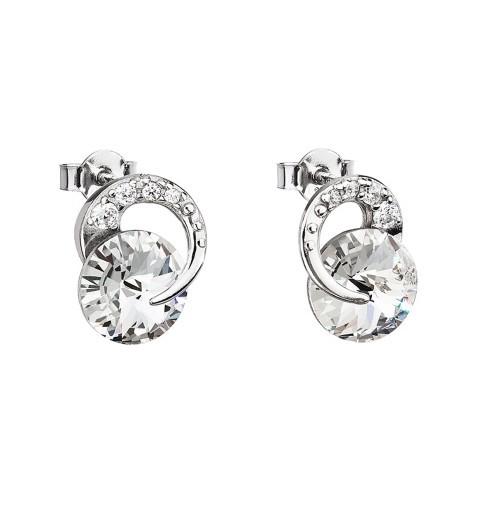 PRECIOSA Hõbe kõrvarõngad Ag925/Rh676700 Crystal Gentle Beauty STYLE