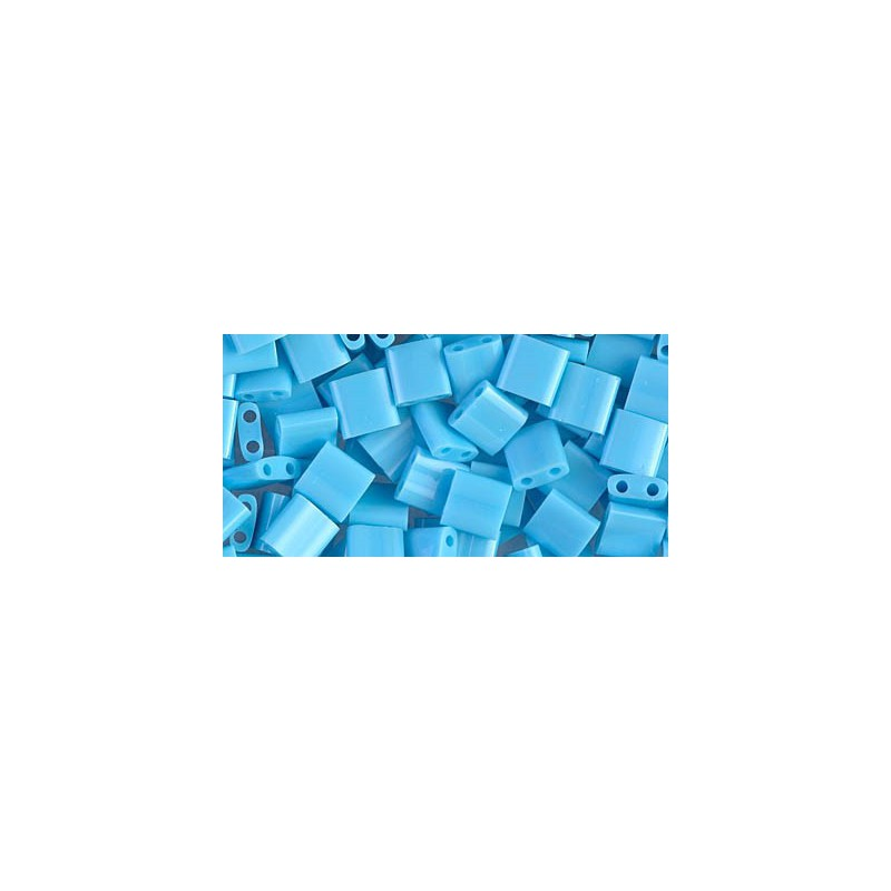 TL-413 Opaque Turquoise Blue Miyuki Tila SEED BEADS