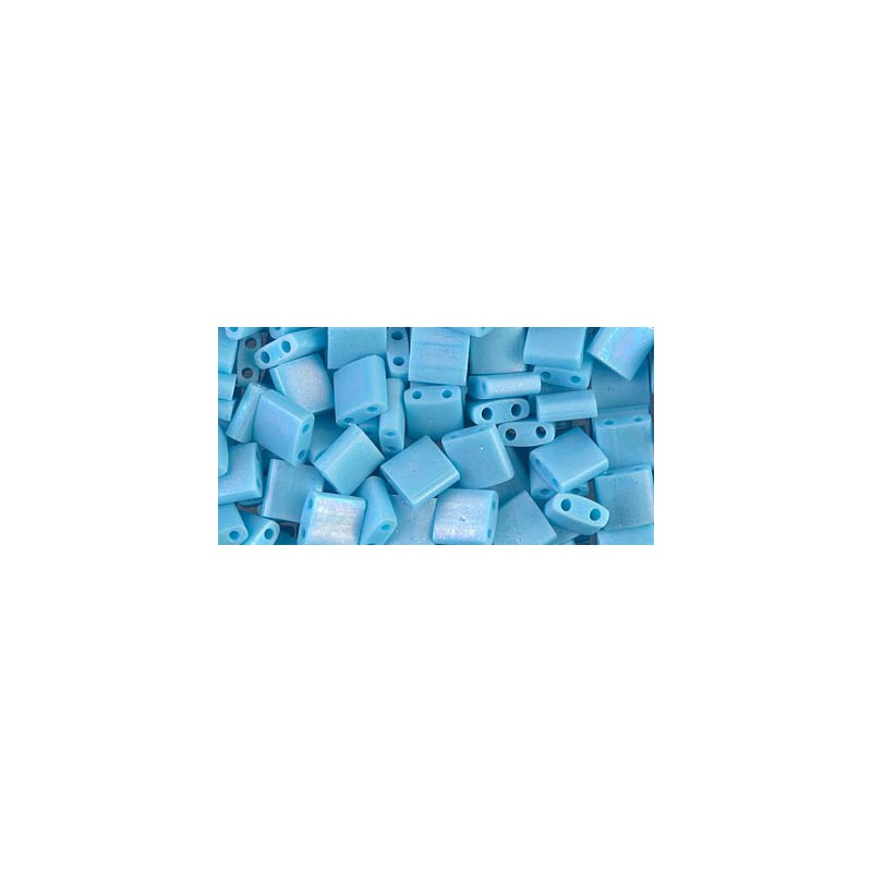 TL-413FR Matte Opaque Turquoise Blue AB Miyuki Tila SEED BEADS