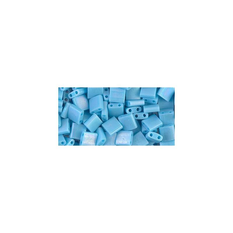 TL-413FR Matte Opaque Turquoise Blue AB Miyuki Tila HELMED