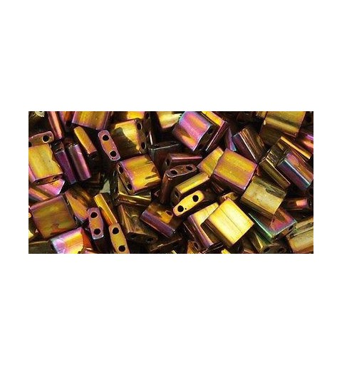 TL-462 Metallic Gold Iris Miyuki Tila HELMED