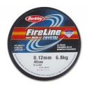 0.12mm/6.8kg FireLine Micro Ice Crystal braided nylon thread 45m