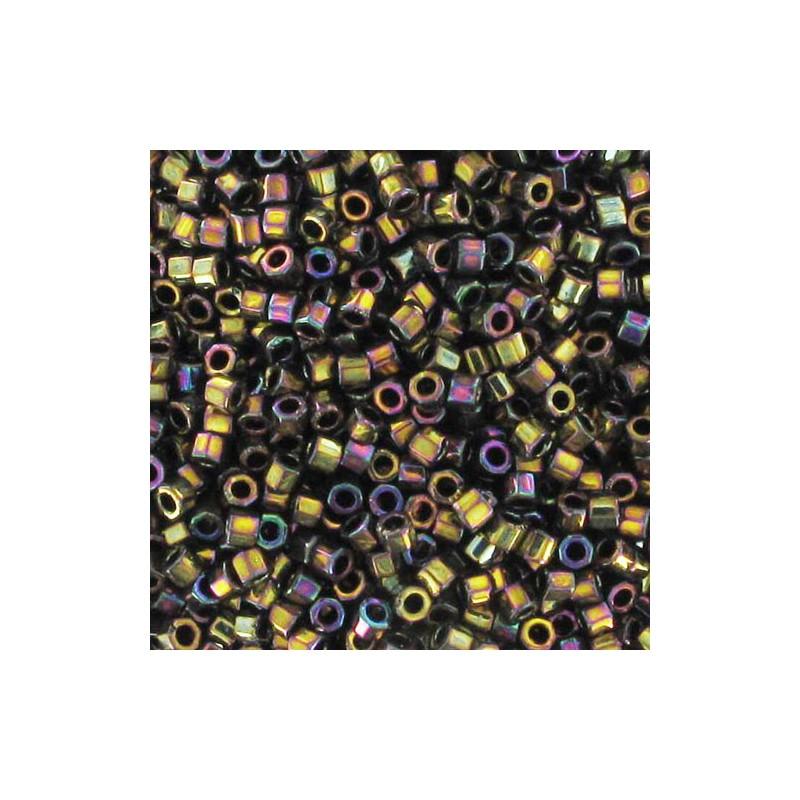 DBC-0023 Metallic Gold Iris Miyuki DELICA Hex Cut 11/0 Seed Beads