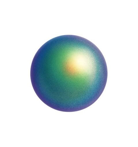 4MM Scarabaeus Green Kristall Ümmargune Pärl (001 946) 5810 SWAROVSKI ELEMENTS
