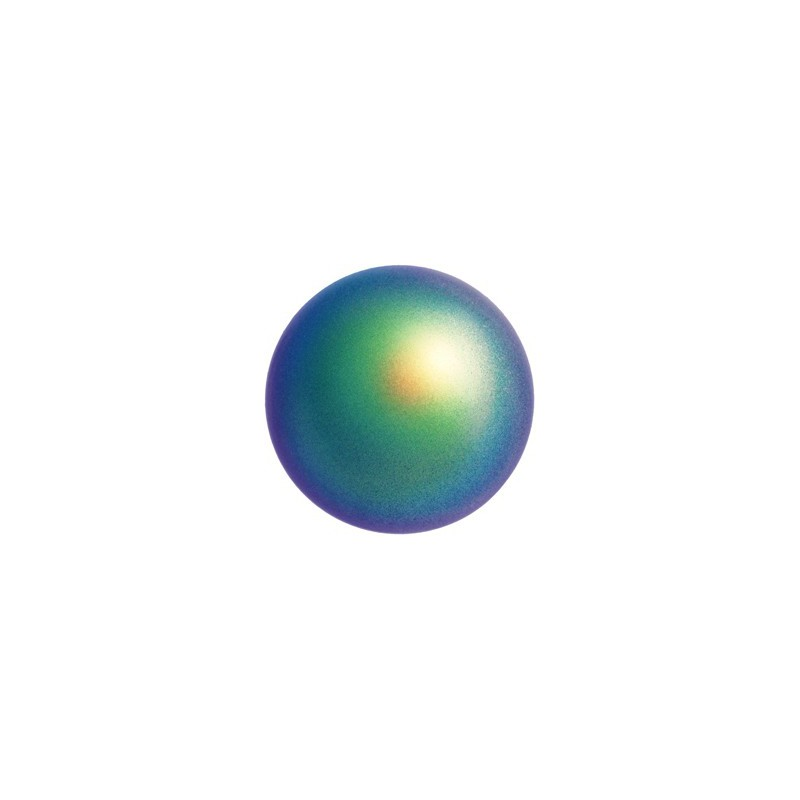 12MM Scarabaeus Green Kristall Ümmargune Pärl (001 946) 5810 SWAROVSKI ELEMENTS