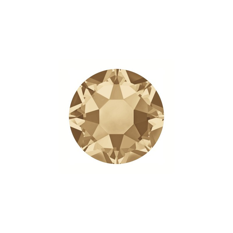2078 SS16 Crystal Golden Shadow A HF (001 GSHA) SWAROVSKI ELEMENTS