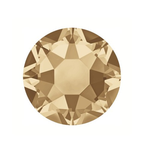 2078 SS16 Crystal Golden Shadow A HF (001 GSHA) SWAROVSKI