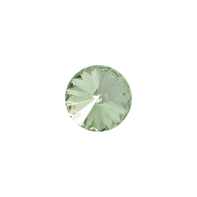 12MM Chrysolite F (238) 1122 Rivoli Chaton SWAROVSKI ELEMENTS