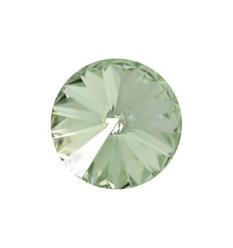 14MM Chrysolite F (238) 1122 Rivoli Chaton SWAROVSKI ELEMENTS