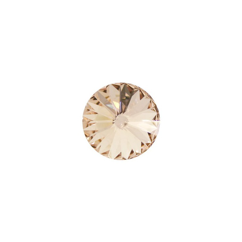 14MM Light Peach F (362) 1122 Rivoli Chaton SWAROVSKI ELEMENTS