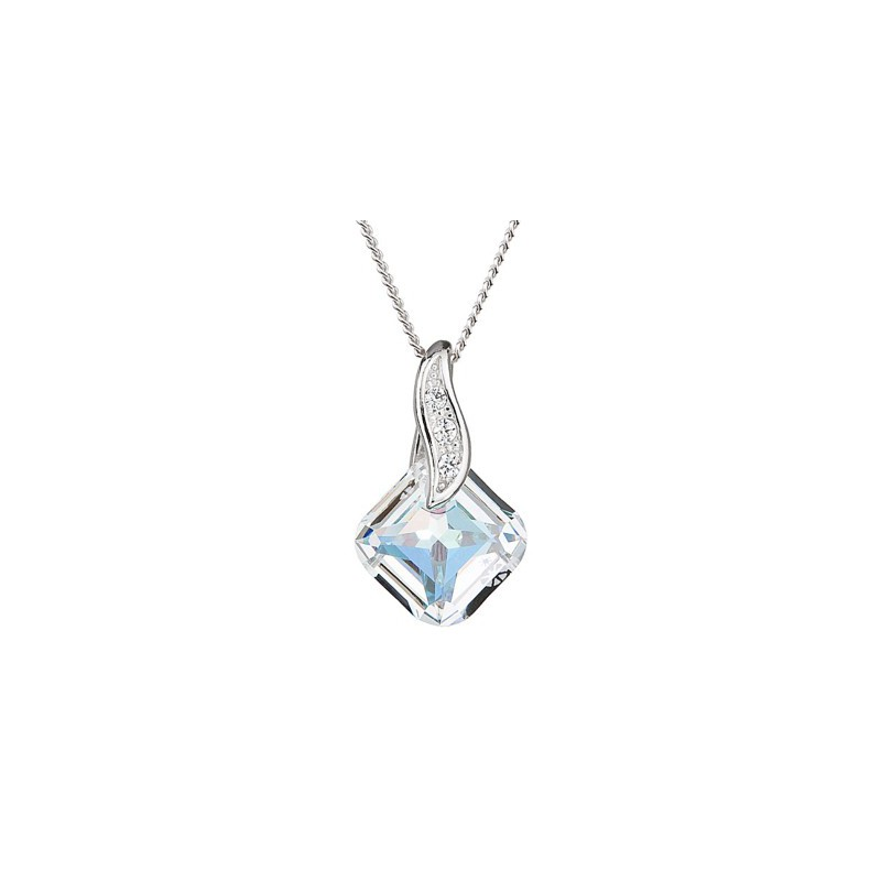 PRECIOSA Hõbe Ripats ketiga Ag925/Rh668842 Crystal AB FEMININE CHARM STYLE
