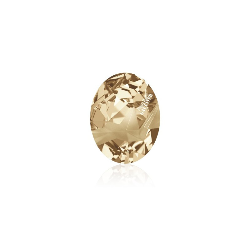 29x22.5mm Crystal Golden Shadow FT (001 GSHA) Капут Овальный Кристалл для украшений 4920 Swarovski Elements