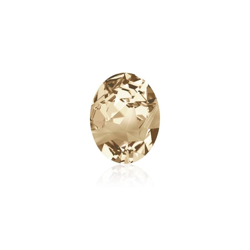 29x22.5mm Crystal Golden Shadow F (001 GSHA) Kaputt Oval Fancy Stone 4921 Swarovski Elements