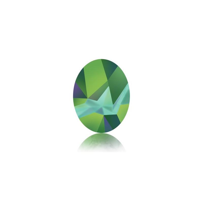 29x22.5mm Crystal Light Chrome F (001 LTCH) Капут Овальный Кристалл для украшений 4921 Swarovski Elements